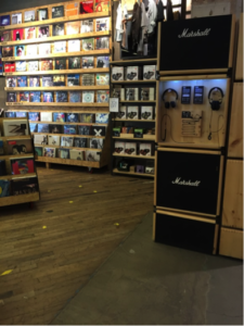 Urban Outfitters Record Section
